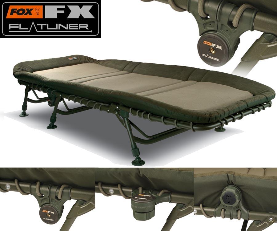 Fox Flatliner Bedchair Yorkshire Carp